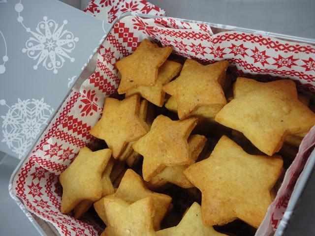 Χριστουγεννιατικα αλμυρα Μπισκότακια!