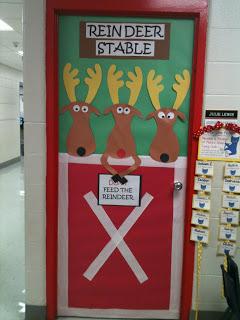 Ιδέες για χριστουγεννιάτικες  πόρτες!