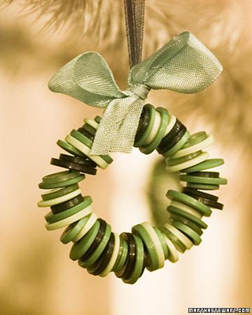 A Button Ornament