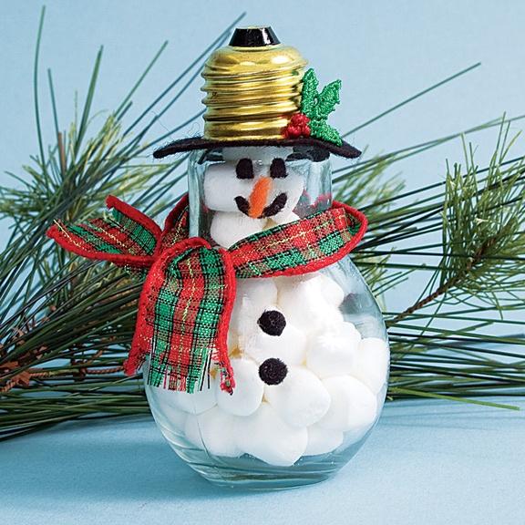 Christmas Bulbs Crafts