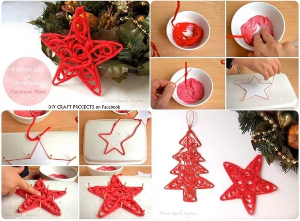Το αστέρι των Χριστουγέννων από τα χεράκια σας!
