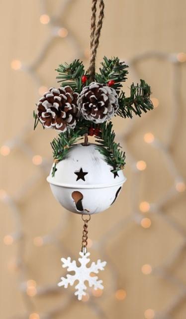 51 ιδέες για Χριστουγεννιάτικη διακόσμηση με κουδουνάκια