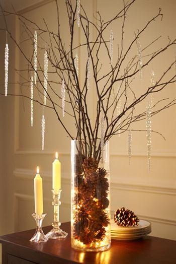 Ιδεες για χριστουγεννιατικες συνθεσεις