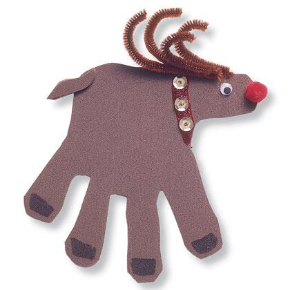 Μια ιδέα Χριστουγεννιάτικη Κάρτα για τα παιδιά
