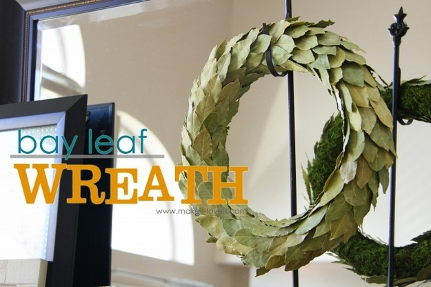 A Bay Leaf Wreath