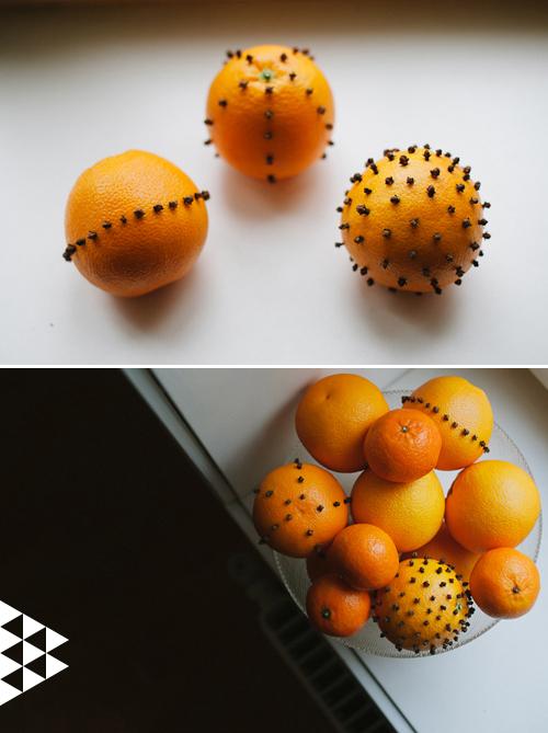 A Bowl of Clove Oranges