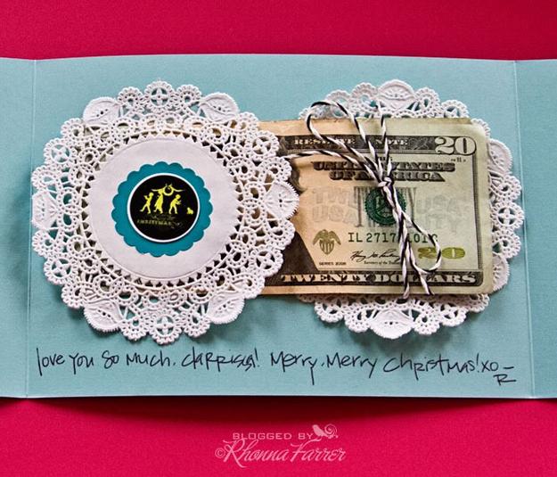 Πετσετάκι Money-κάτοχος της κάρτας