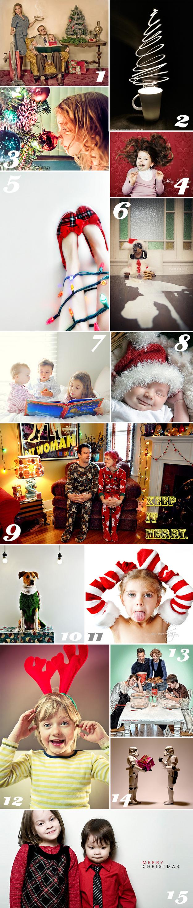 The Goofy/Artsy/Heartwarming Family Photo Card