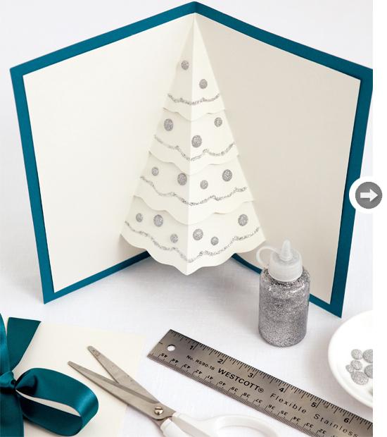 Pop-Up Χριστουγεννιάτικο Δέντρο Κάρτες