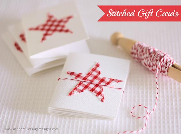 Σούπερ-Απλή κάρτες Συρραμένο