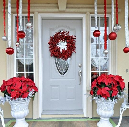 Ιδέες για τη Χριστουγεννιάτικη Διακόσμηση της Εισόδου και της  Εξώπορτάς σας