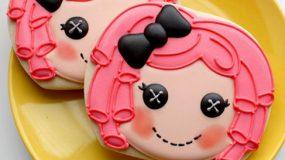 Μπισκότα lalaloopsie!Ιδανικα για παιδικό πάρτυ!Βήμα βήμα!