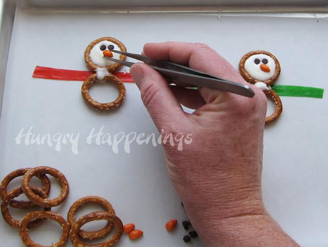 Μπισκότα χιονάνθρωποι