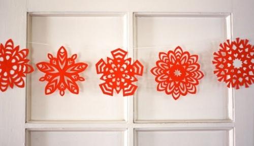 Ιδεες για Χριστουγεννιατικες Γιρλαντες
