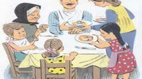 Oικογενειακό τραπέζι! Μια αξία πιο σημαντική απ όσο νομίζουμε!Πώς θα το πετύχουμε