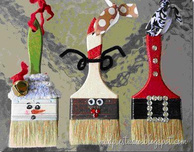 31 Κατασκευές για τα Χριστούγεννα... με το μάτι!!!