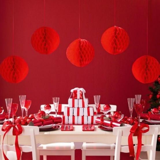 ΟΛΑ κόκκινα! 40 ιδέες για την πιο RED Χριστουγεννιατικη  διακόσμηση