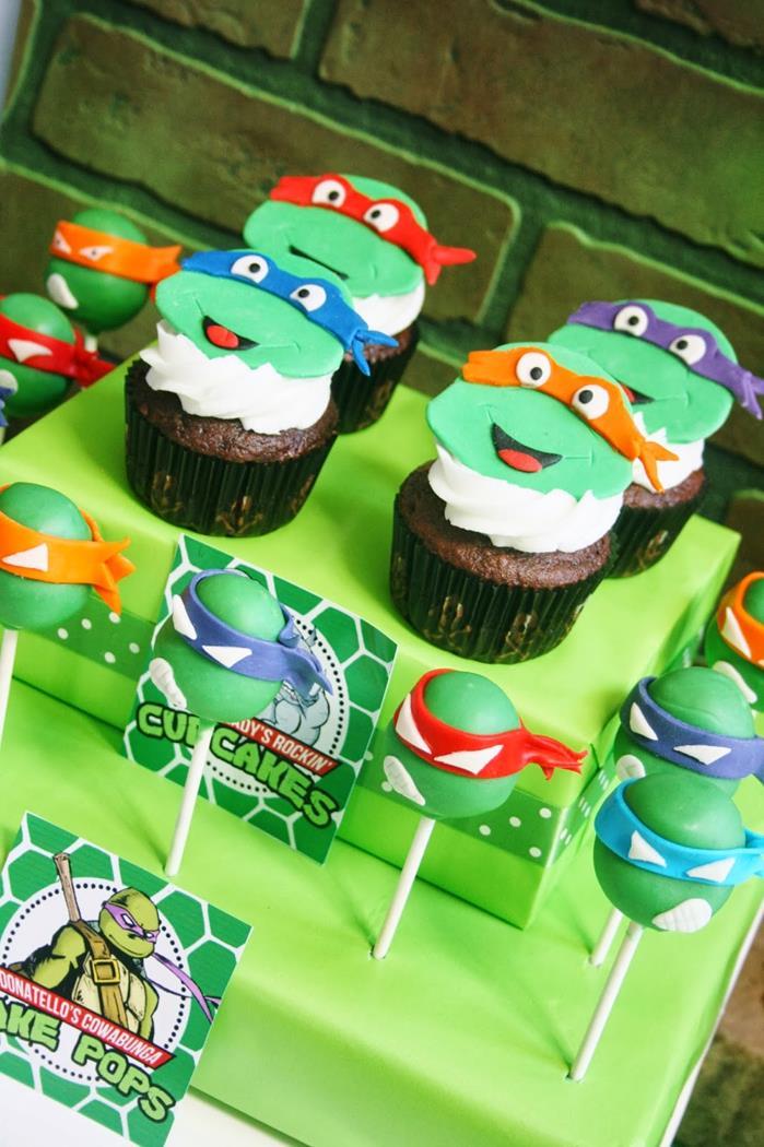 Teenage Mutant Ninja Turtles Party with Lots of Really Cool Ideas via Kara's Party Ideas KarasPartyIdeas.com #TMNTParty #PartyIdeas #Supplies (22)