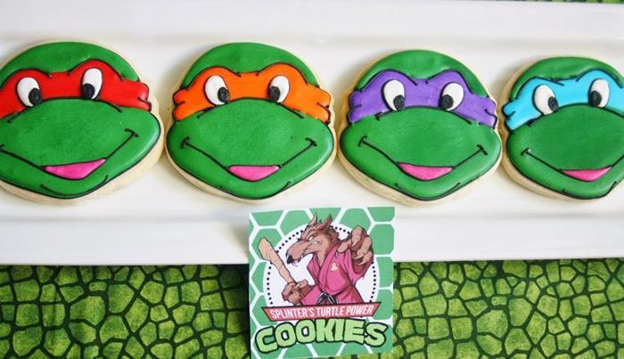 Teenage Mutant Ninja Turtles Party with Lots of Really Cool Ideas via Kara's Party Ideas KarasPartyIdeas.com #TMNTParty #PartyIdeas #Supplies (18)