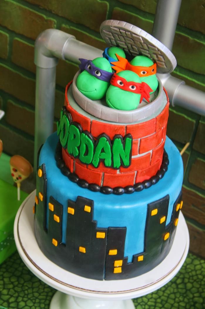 Teenage Mutant Ninja Turtles Party with Lots of Really Cool Ideas via Kara's Party Ideas KarasPartyIdeas.com #TMNTParty #PartyIdeas #Supplies (6)