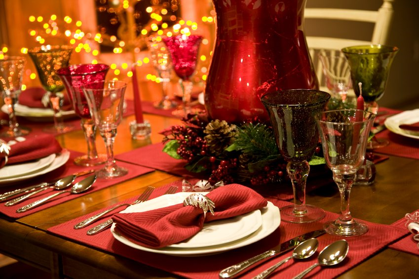 Christmas Lunch Table Decoration Ideas :