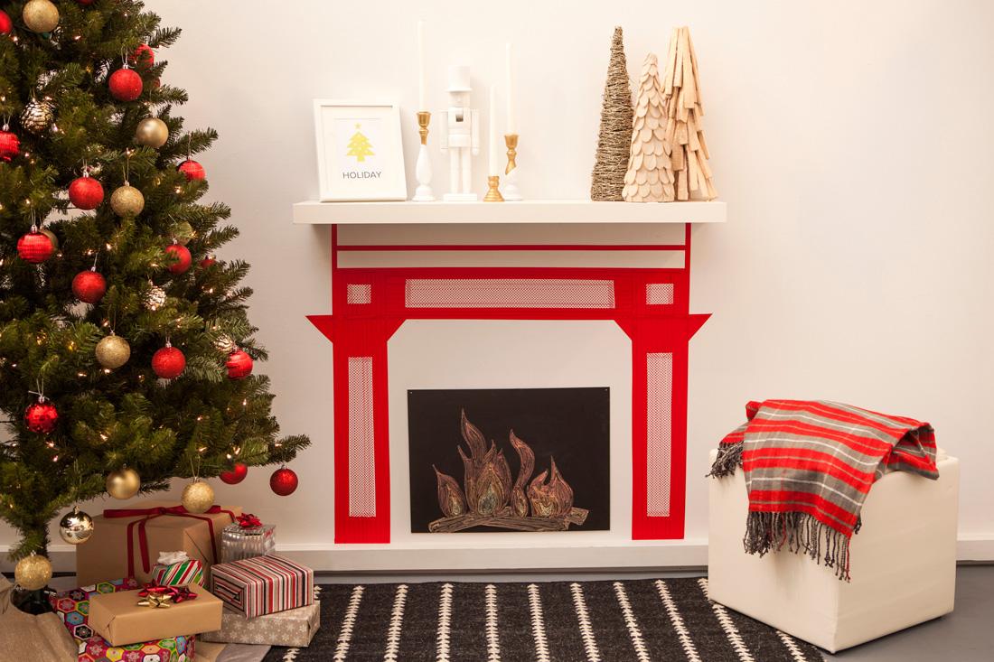Φτιαξτε το ωραιότερο τζάκι για τα Χριστούγεννα μόλις σε 20 λεπτά!