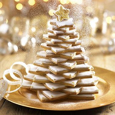 Πώς θα φτιάξεις μπισκοτένιο χριστουγεννιάτικο δεντράκι