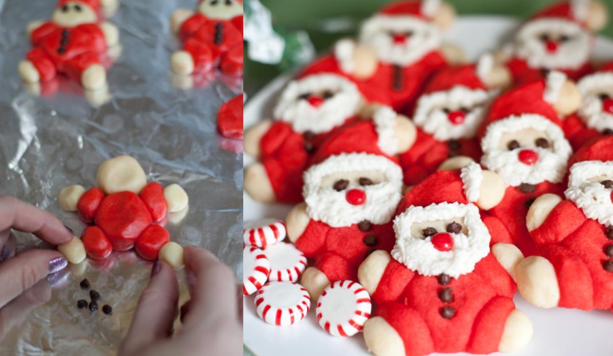Χριστουγεννιάτικα μπισκότα Άγιος Βασίλης