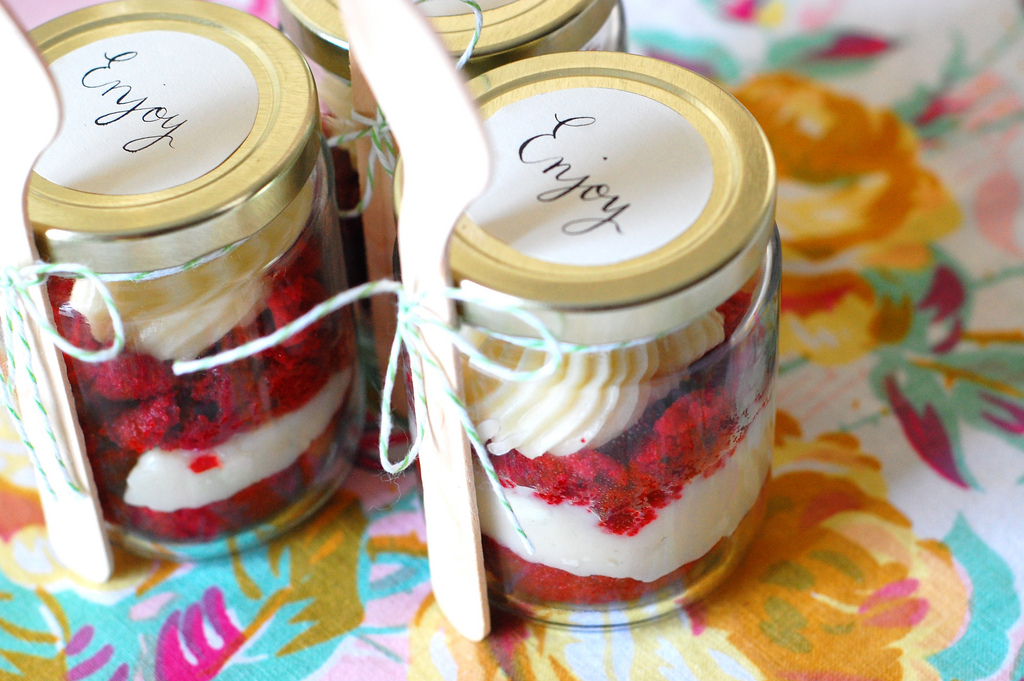 red velvet in a jar