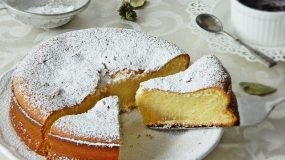 Δε θα το πιστεύετε!!!Φανταστικό κέικ με ζαχαρούχο μόνο με 4  υλικά!