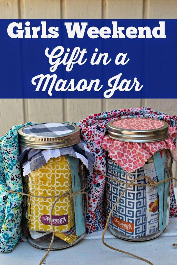 Τα κορίτσια-Σαββατοκύριακο-δώρο-in-a-Jar-Ιδέα ονομασία