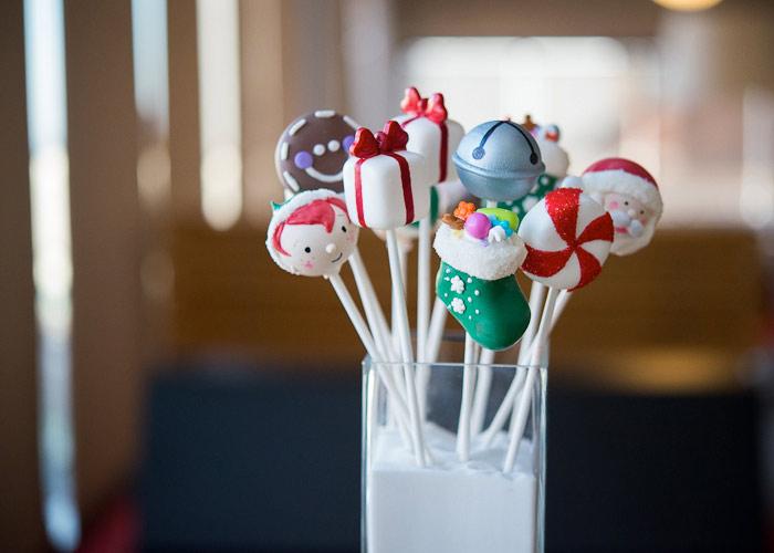 Ιδέες για Χριστουγεννιάτικα cake pops