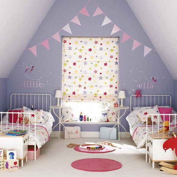 attic christmas bedroom for kids 15 Christmas Kids Bedroom Ideas