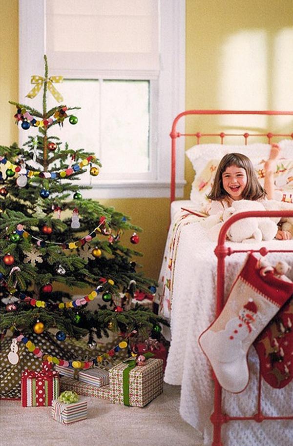 christmas bedrooms for kid 15 Christmas Kids Bedroom Ideas
