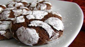 Χριστουγεννιάτικα μαλακά μπισκότα με σοκολάτα!