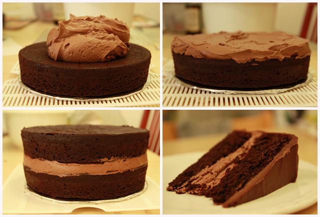 H πιο ευκολη σοκολατενια γεμιση για τουρτα που φτιαξατε ποτε!Μονο με τρια υλικα