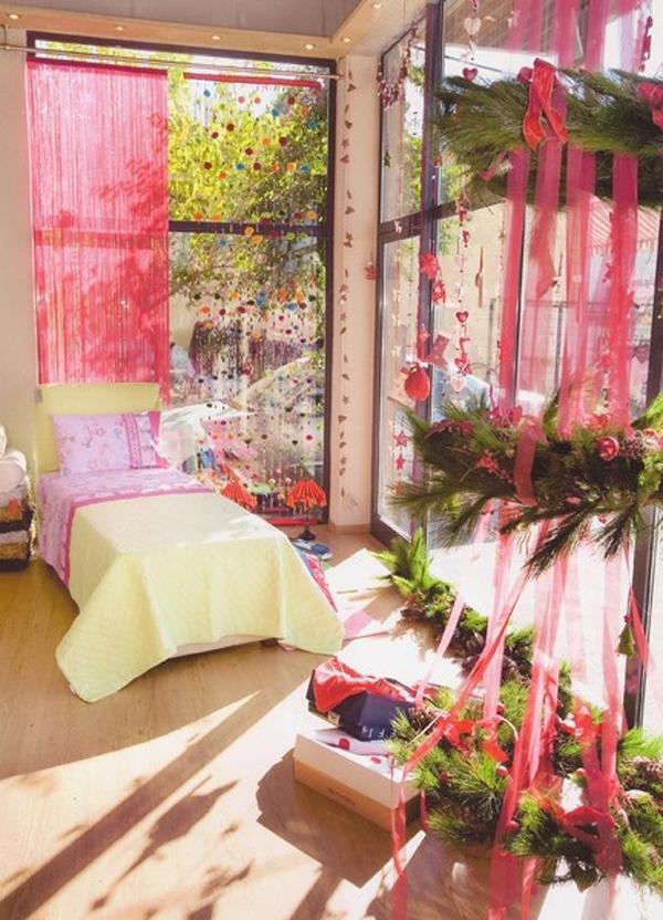 open space chriatms bedroom ideas 15 Christmas Kids Bedroom Ideas