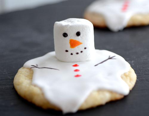 snowman-cookie