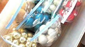 Μαζέψτε και Αποθηκεύστε τα Χριστουγεννιάτικα Στολίδια -τα πιο εξυπνα τιπς!