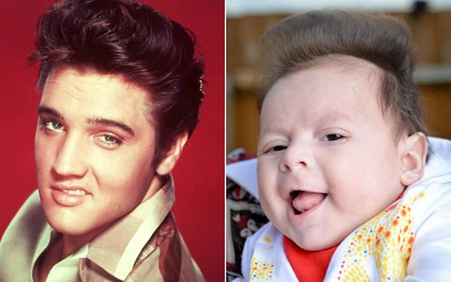 Μωρά που θυμίζουν διάσημους!Θα κλάψετε από τα γέλια!