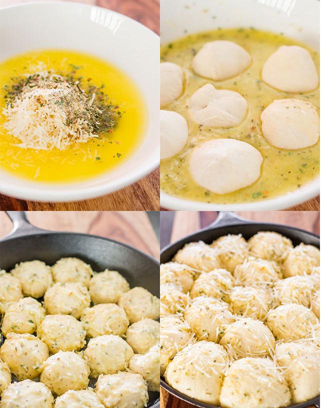 Ιταλικά λαχταριστά ψωμάκια με τυρί