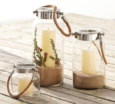 Summer-decoration-ideas-lanterns-rope-sand-candles