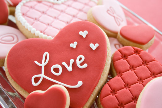 Τα πιο αγαπησιάρικα μπισκότα για του Αγ.Βαλεντίνου από τα χεράκια σας