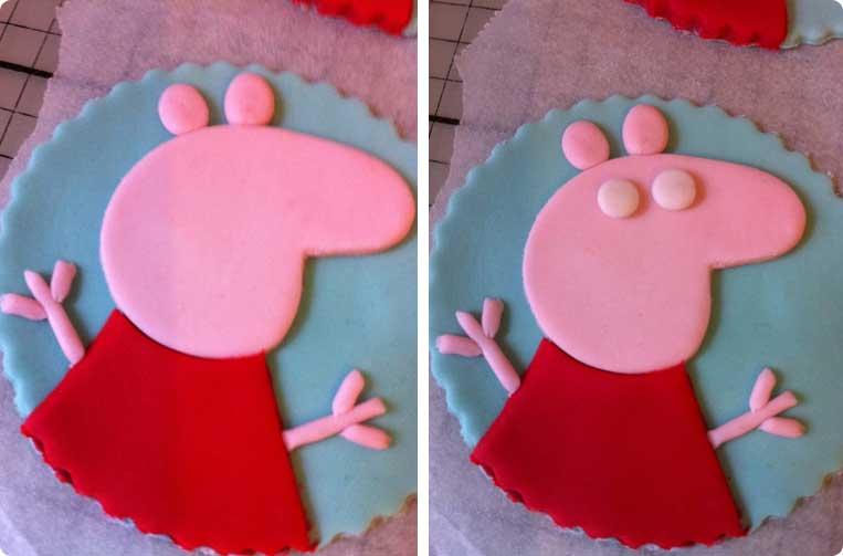Cupcakes για παιδικο παρτυ Πέππα το γουρουνάκι!