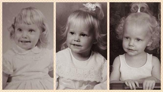15 φωτογραφίες γονιών και των παιδιών τους με απίστευτη ομοιότητα στην ίδια ηλικία