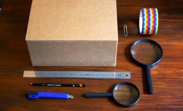 Πως θα σας φαινόταν αν σας λέγαμε ότι μπορείτε να φτιάξετε ένα προτζεκτορα πανεύκολα με άπλα υλικά;