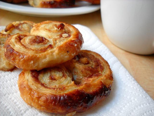 Μπισκότα Palmier μόνο με 2 υλικά (Νηστίσιμα)