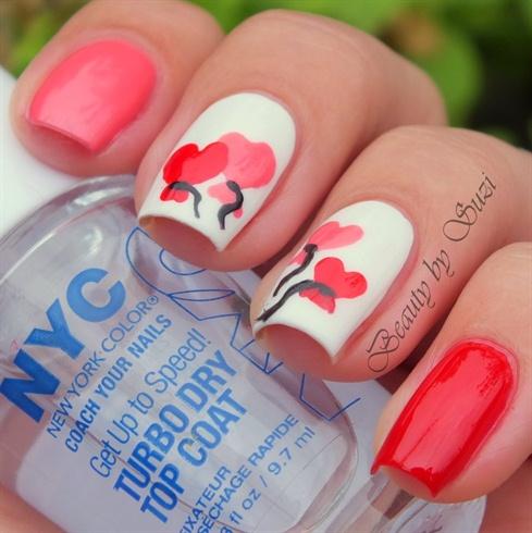 Valentine's Day Nail Art DIY Ideas that You'll Love0a