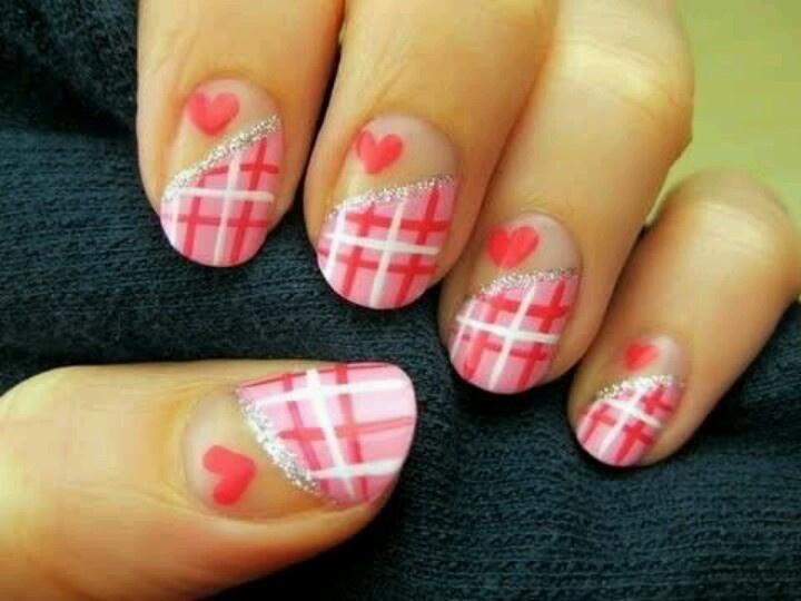 Valentine's Day Nail Art DIY Ideas that You'll Love11