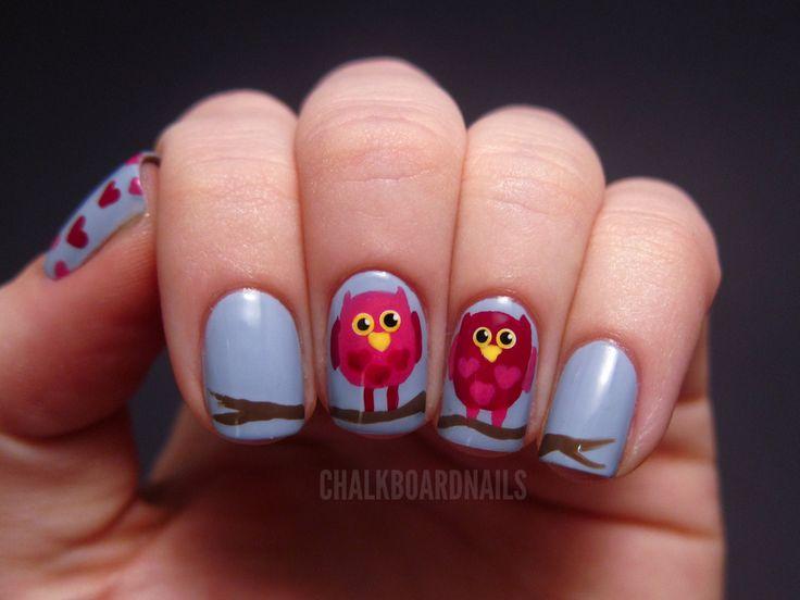 Valentine's Day Nail Art DIY Ideas that You'll Love12